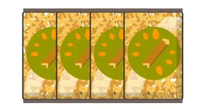 schéma sac de granulé de bois